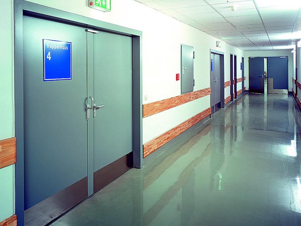 Puerta batiente cortafuegos Novoferm