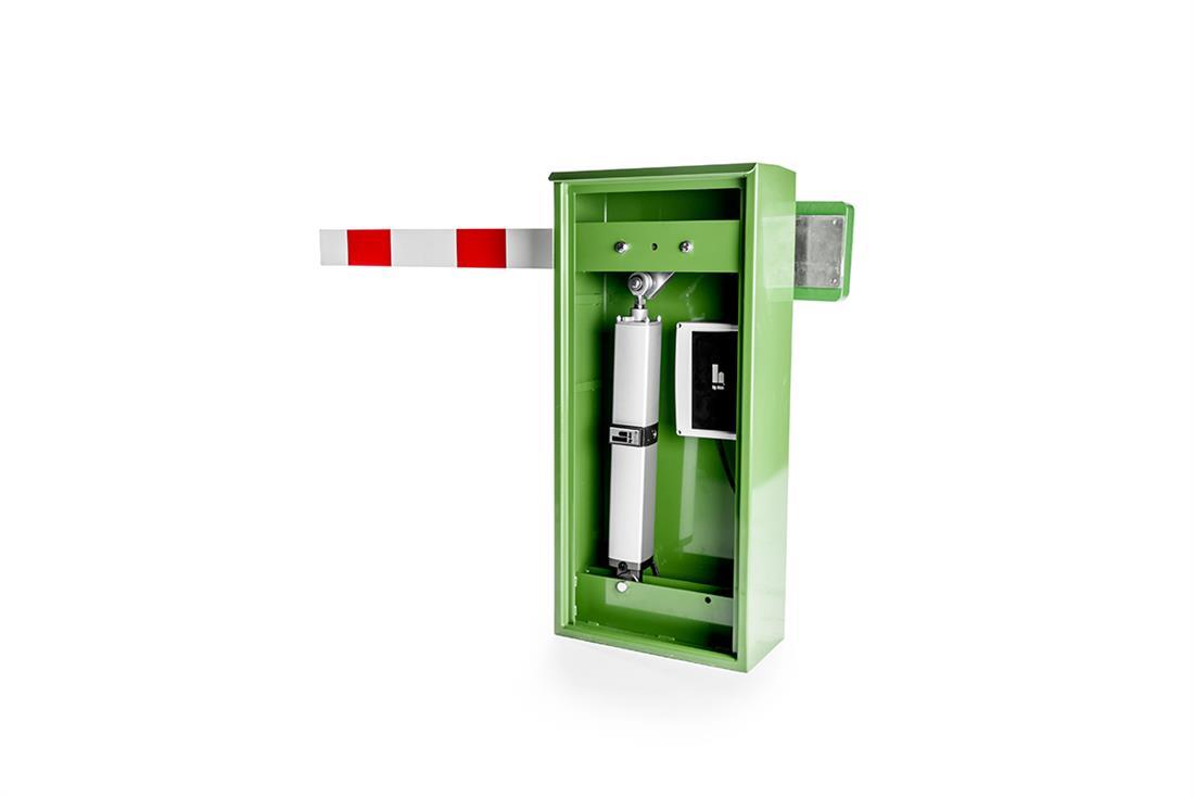 Automatismo para barrera hidráulica automática HY-DOM BAR 4 abierta