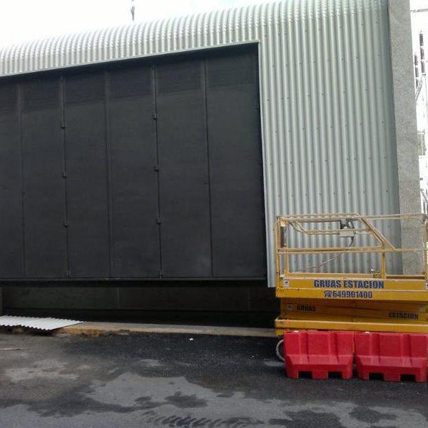 Puertas industriales especiales
