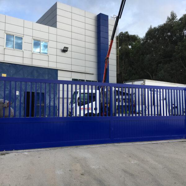 Puerta corredera industrial Tipo Cancela